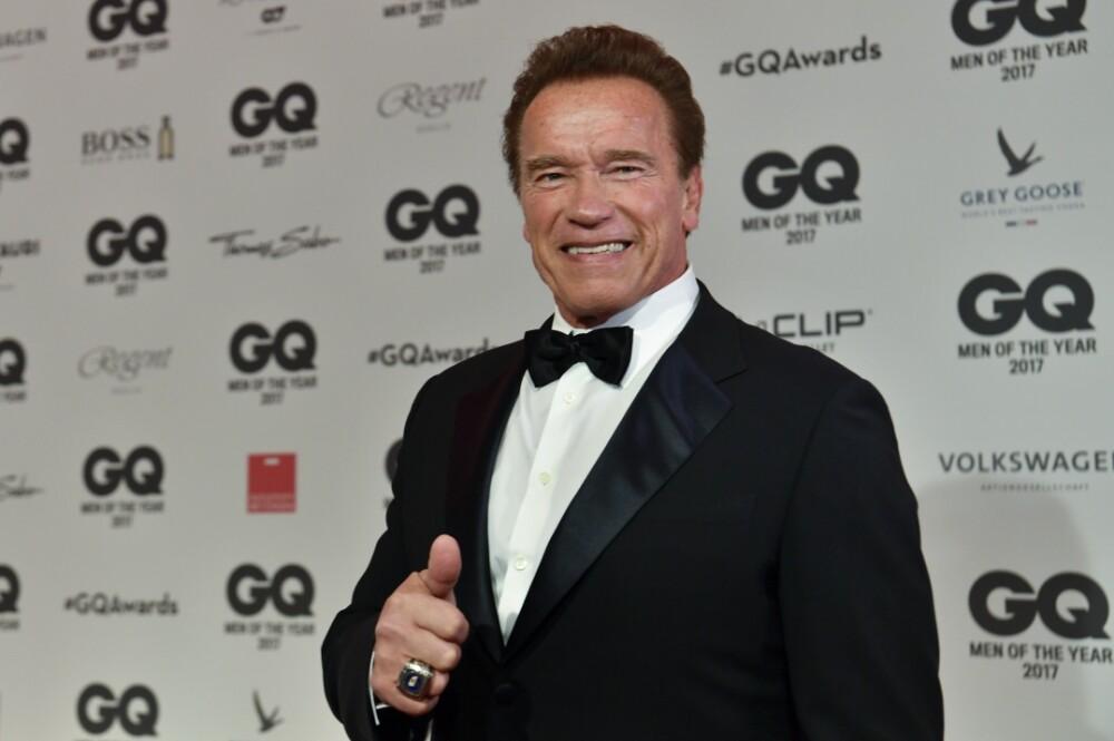 303348_Blu Radio. Arnold Schwarzenegger / Foto: AFP