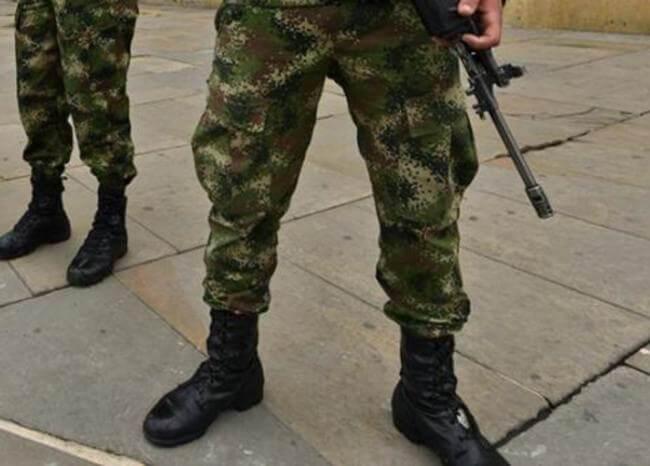 356084_Ejercito_Militares_Soldados // Foto: AFP