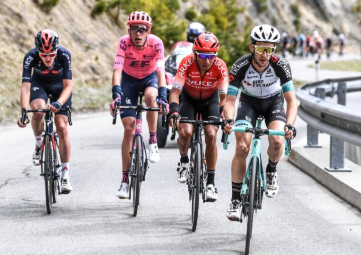 Nairo Quintana es el mejor colombiano en la general del Tour de los Alpes.