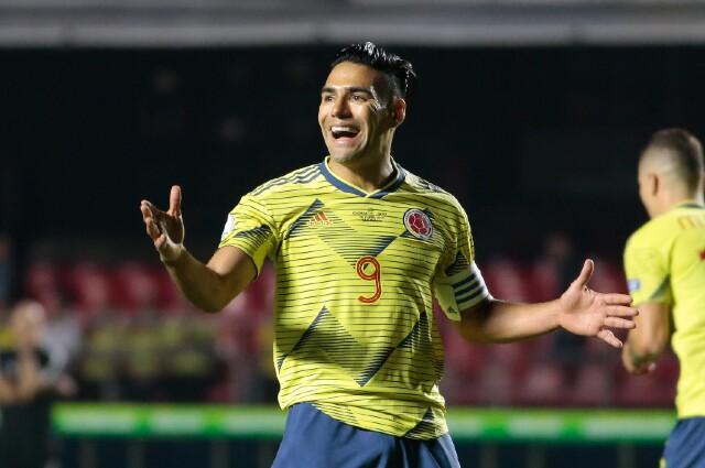 Falcao, futbolista colombiano