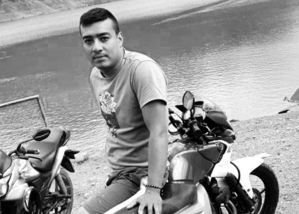 Carlos Andrés Rincón, patrullero asesinado en Valle del Cauca.jpeg