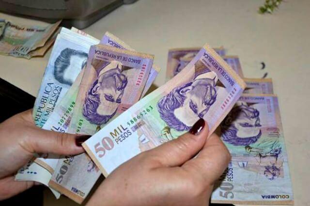 Valor del salario mínimo en Colombia año 2020