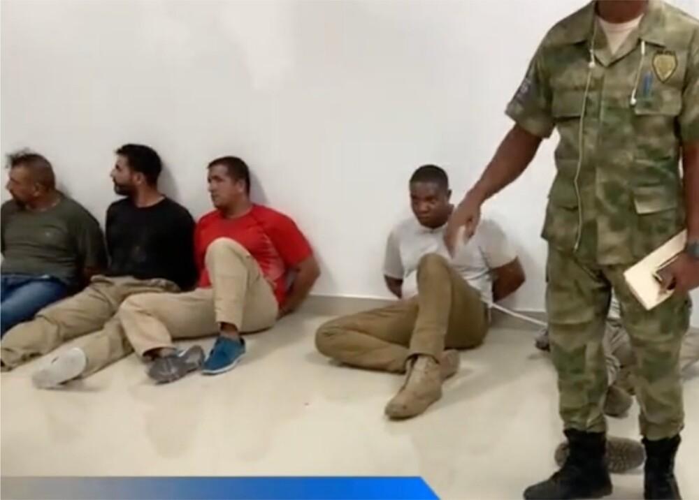Mercenarios capturados en Haití Foto Suministrada.jpg
