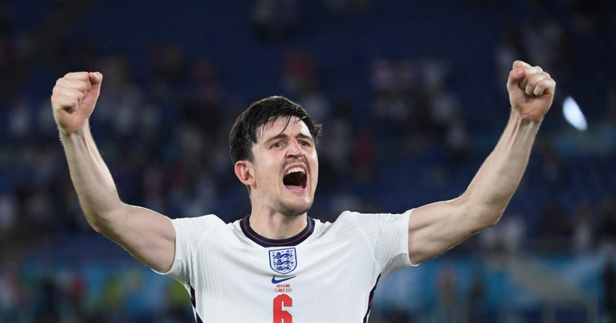 """Harry Maguire e Inglaterra son realistas: """"No quiero ser un aguafiestas, pero esto no acaba aquí"""""""