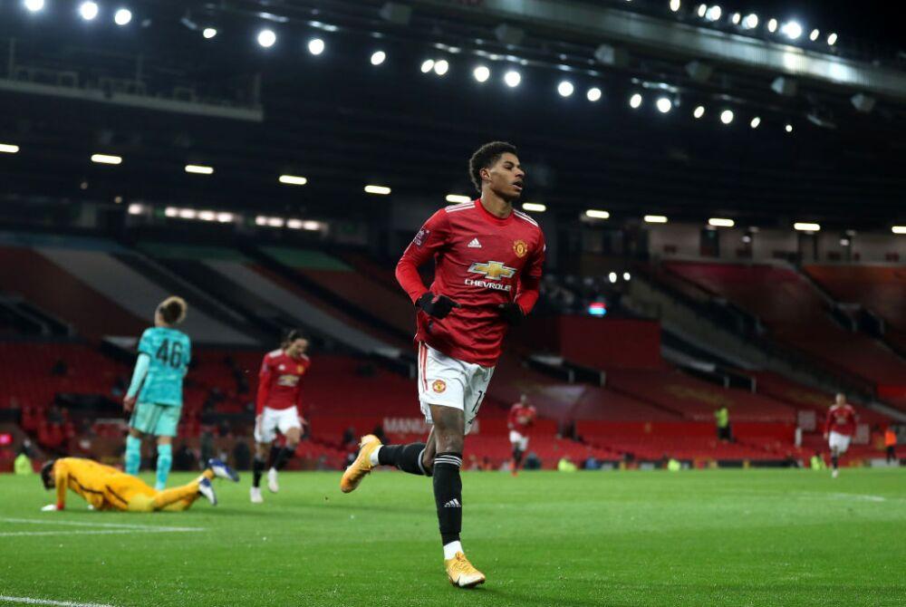 Marcus Rashford, Manchester United vs Liverpool