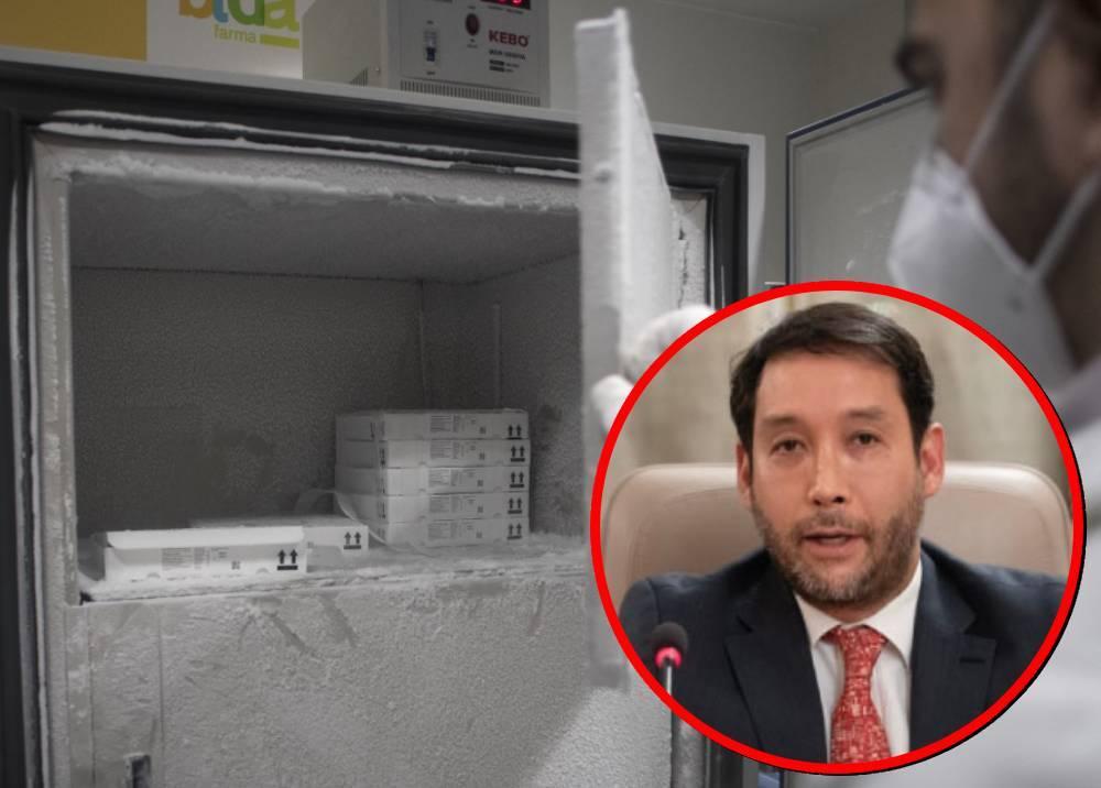 Cadena de frío de vacunas - Diego García