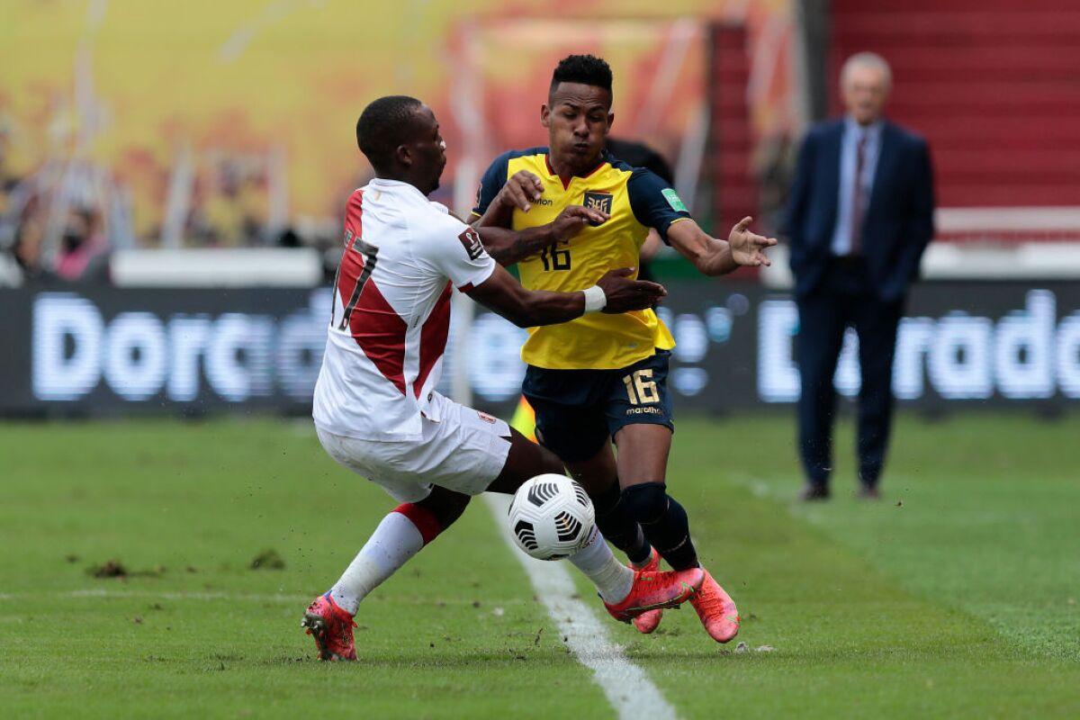 Ecuador vs Perú EN VIVO: alineaciones, mejores jugadas y estadísticas de los jugadores