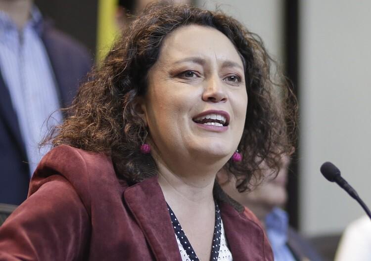angelica lozano congresista colombia foto archivo colprensa