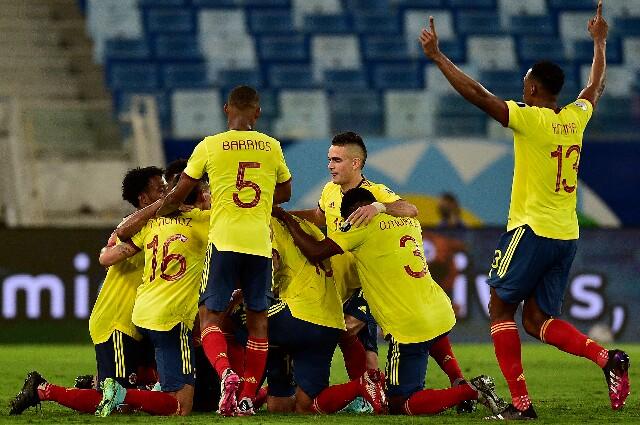 Selección Colombia, en el debut de Copa América