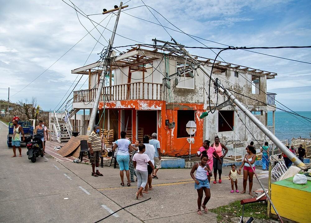 Destrucción del huracán Iota en Providencia : AFP.jpeg