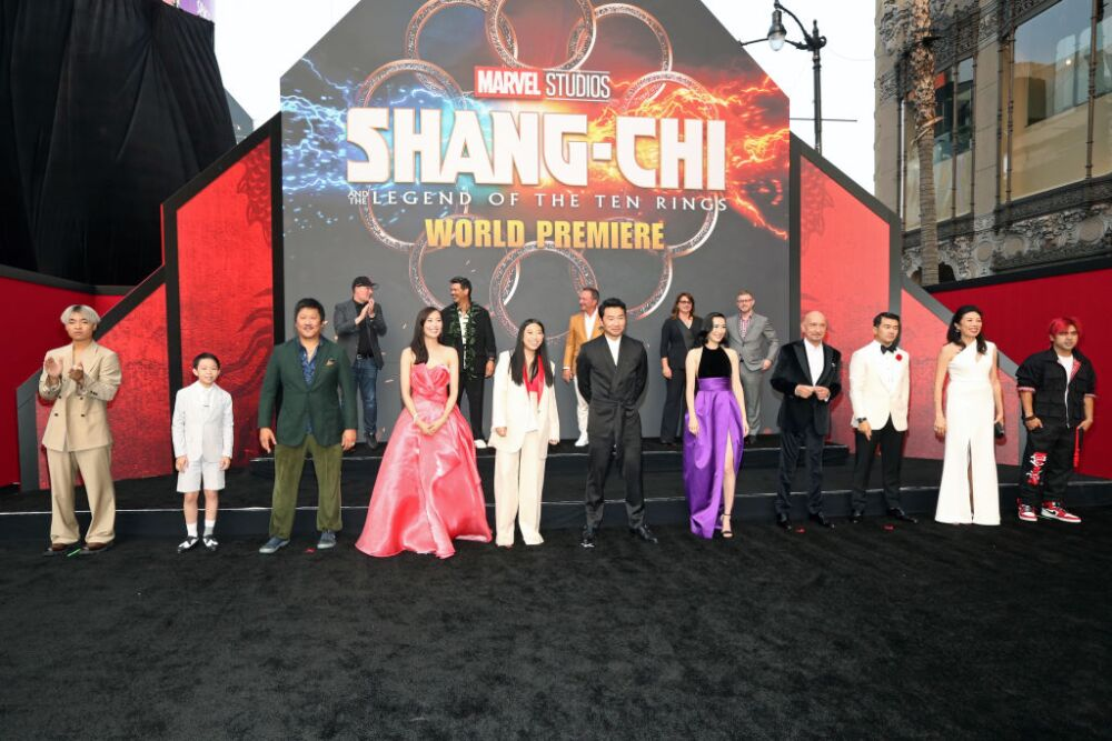 Shang-Chi And The Legend Of The Ten Rings World Premiere