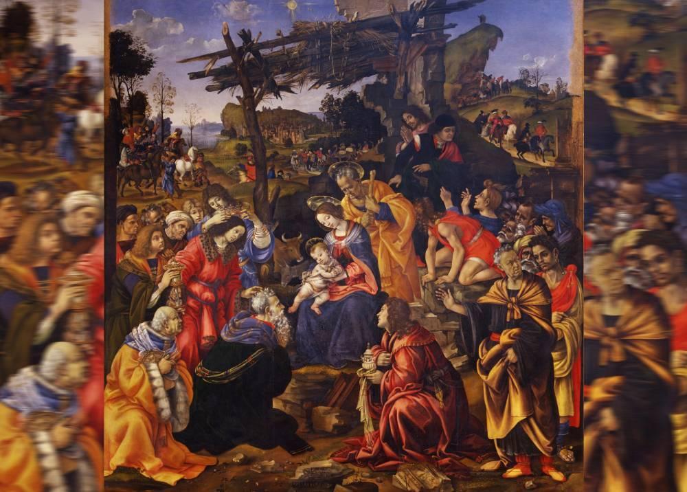 Adorazione dei Magii - Filippino Lippi / 1496