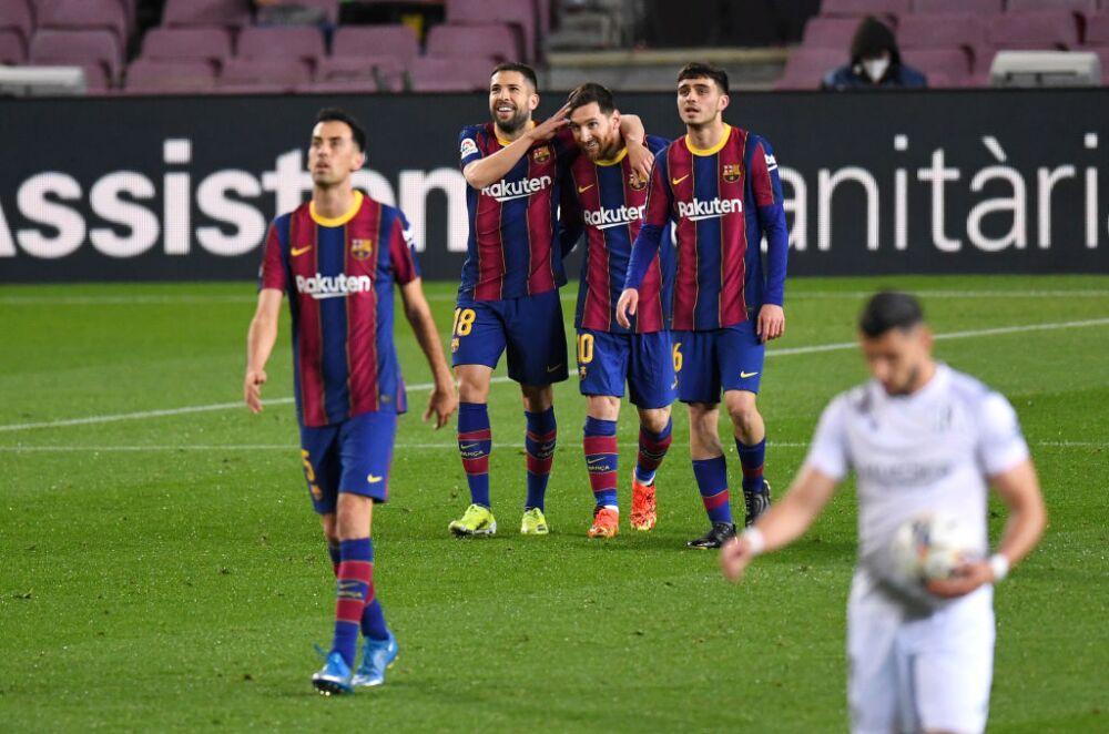 FC Barcelona v SD Huesca