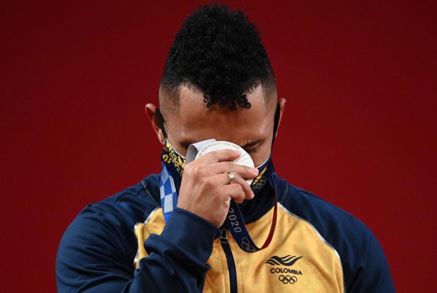 Luis Javier Mosquera logró la medalla número 30 de Colombia en los Juegos Olímpicos de Tokio.