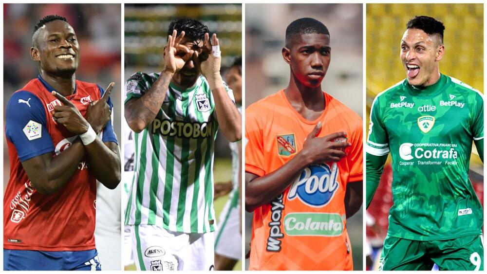 Equipo ideal de la quinta jornada de la Liga colombiana II-2021