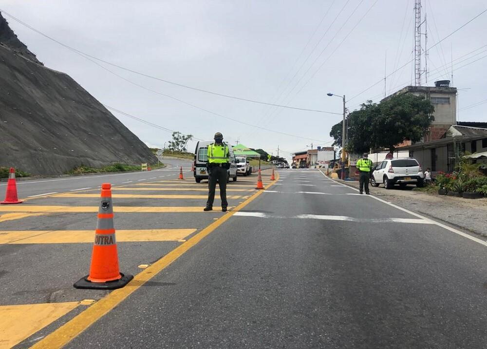 365568_BLU Radio. Controles viales policía / Foto: Policía de Tránsito Bucaramanga