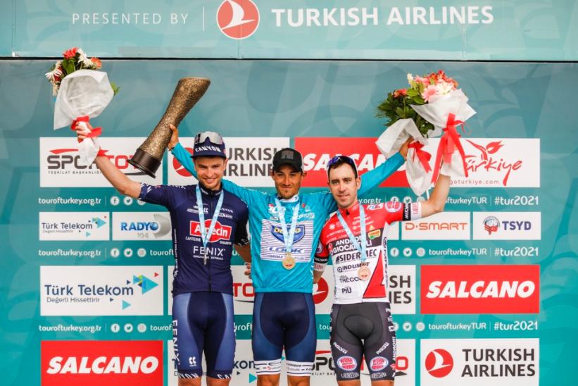 José Manuel Díaz se coronó campeón de la Vuelta a Turquía.