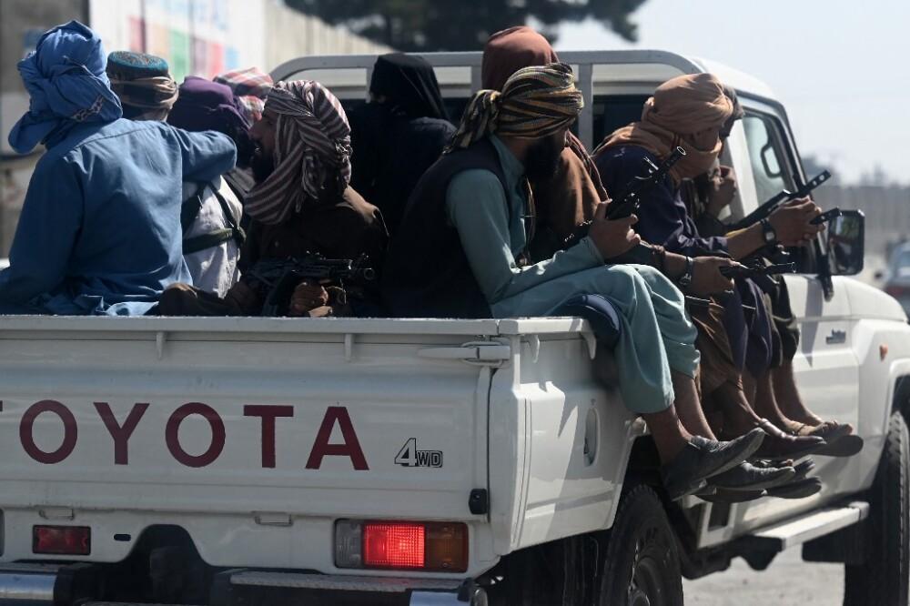 Kabul bajo el poder de los talibanes