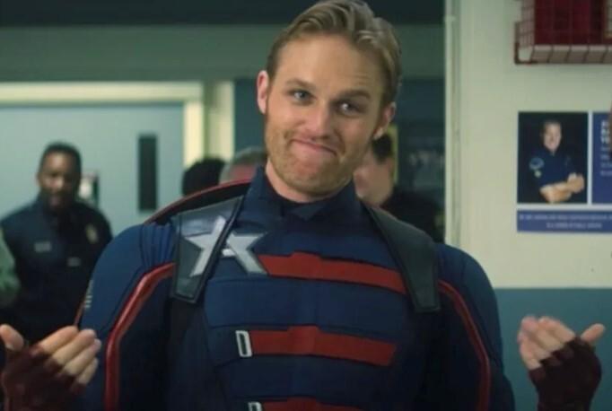 Wyatt Russell - capitan america