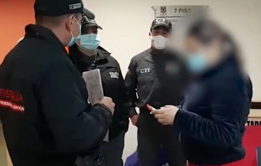 Captura de exfuncionaria del Ejército acusada de corrupción.jpeg
