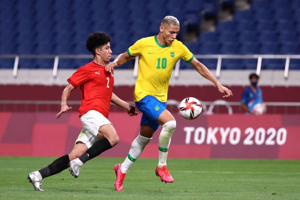Brazil v Egypt: Men's Football Quarterfinal - Olympics: Day 8