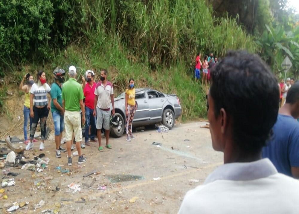 372313_BLU Radio: Accidente Norte de Bucaramanga / Foto: Suministrada