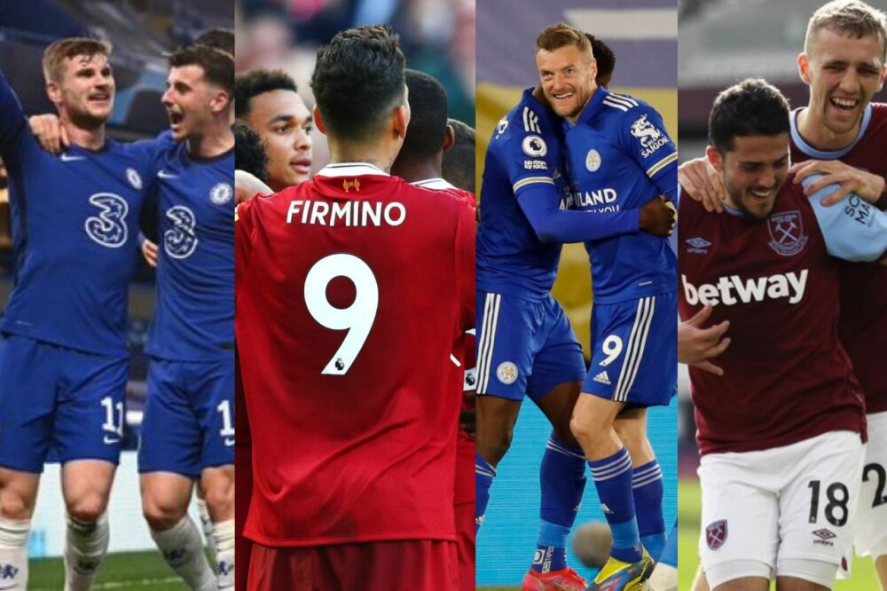 Chelsea-Liverpool-Leicester-West Ham