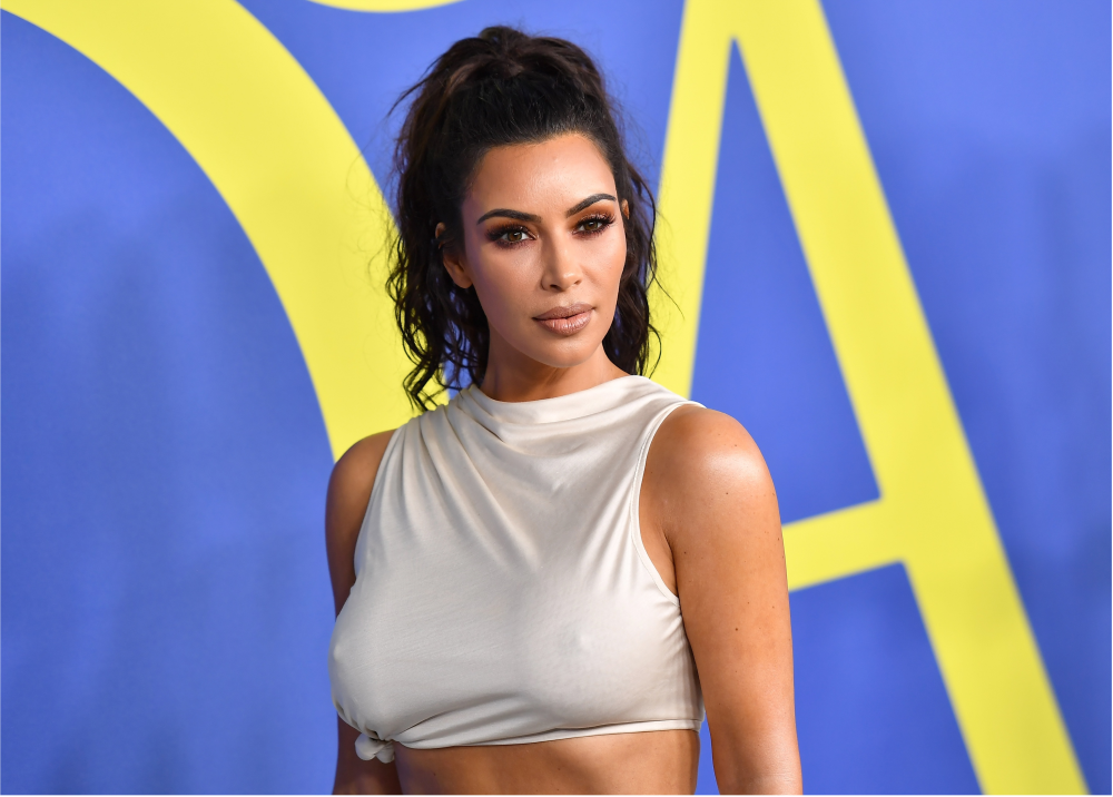 315107_Blu Radio. Kim Kardashian. Foto: AFP