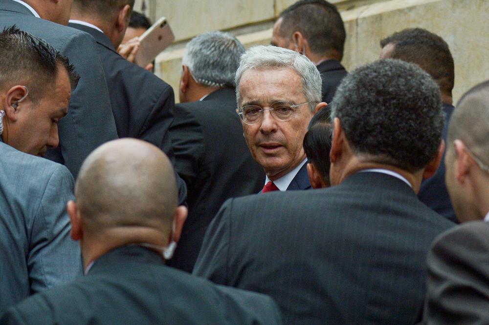 345419_Blu Radio. Álvaro Uribe / Foto: AFP
