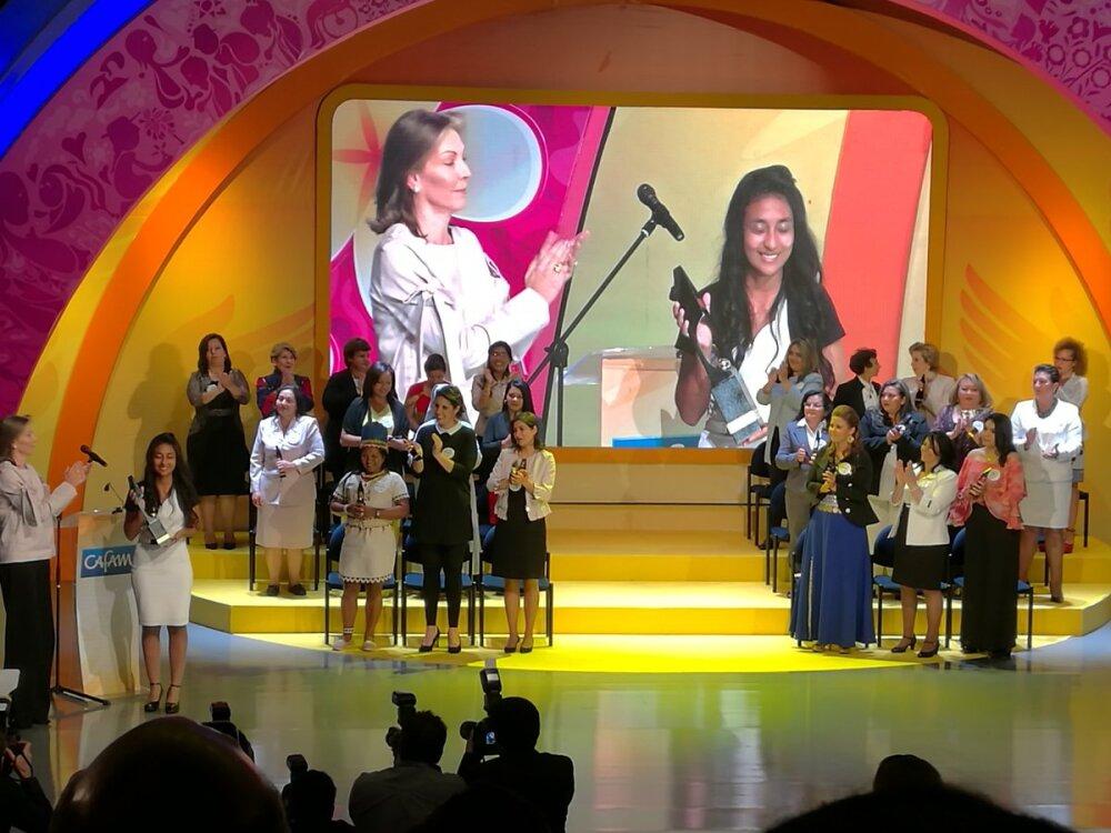 279697_Foto: Premio Cafam a la Mujer