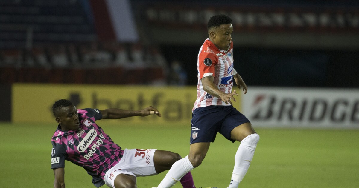 Con la 'banda' casi completa: convocados de Santa Fe para el juego contra Junior en cuartos de Liga