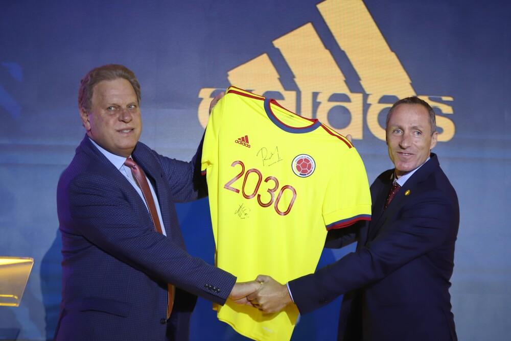 La Selección Colombia y la marca Adidas extendieron su vínculo. Colprensa.jpeg