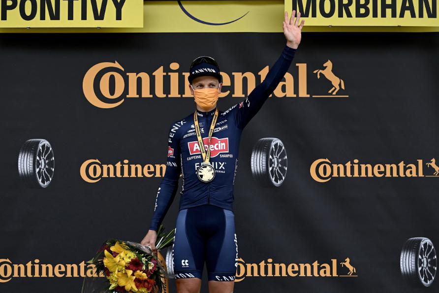 Tim Merlier fue el ganador de la etapa 3 del Tour de Francia.