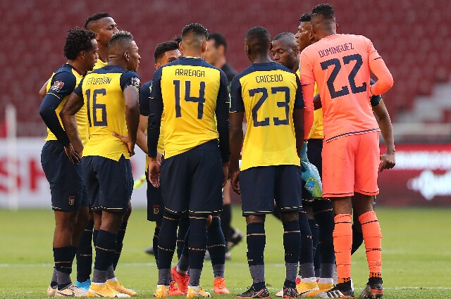 Baja en la Selección de Ecuador