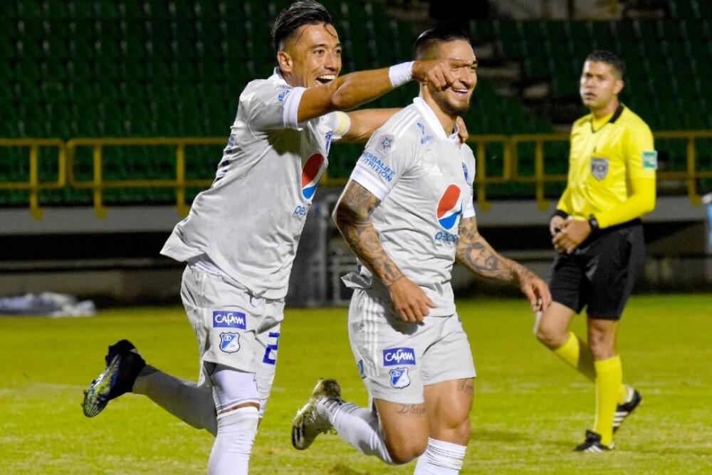 Fernando Uribe y Cristian Arango