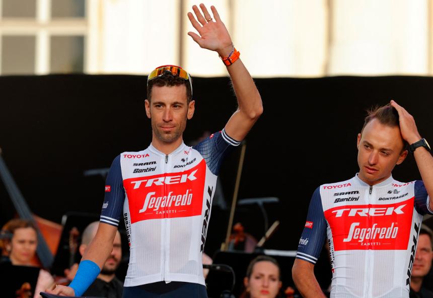 Vincenzo Nibali es uno de los favoritos al título del Giro de Italia 2021.