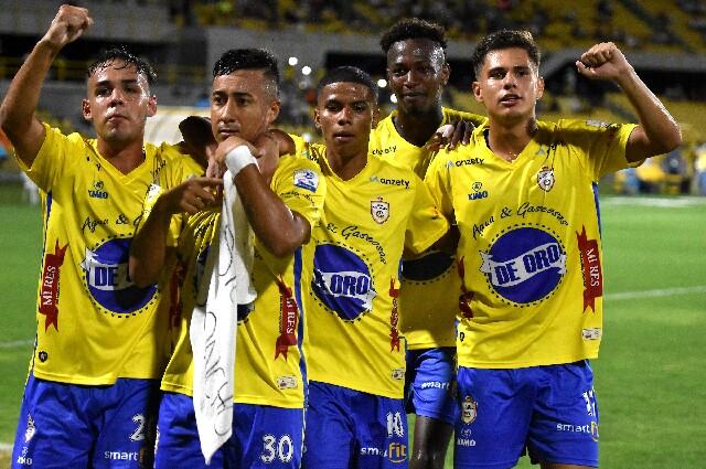 Real Cartagena contra Cortuluá, en el Torneo