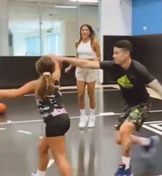 James Rodríguez, Daniela Ospina y Salomé