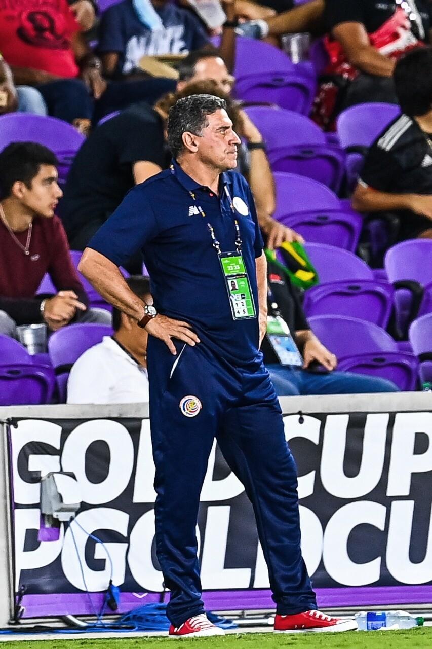 Luis Fernando Suárez, técnico colombiano de la selección Costa Rica. AFP.jpeg