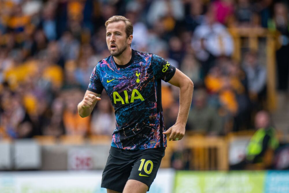Harry Kane, delantero del Tottenham Hotspur.