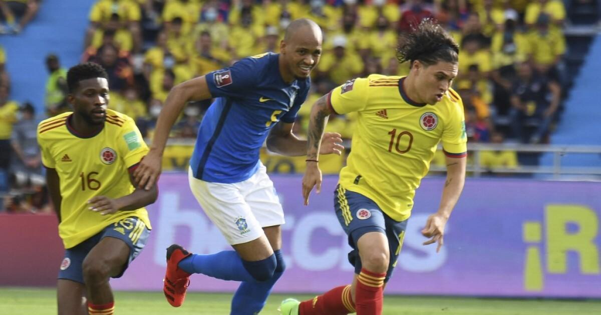 Juan Fernando Quintero, 'encendido' en el partido contra Brasil: elogios para el jugador