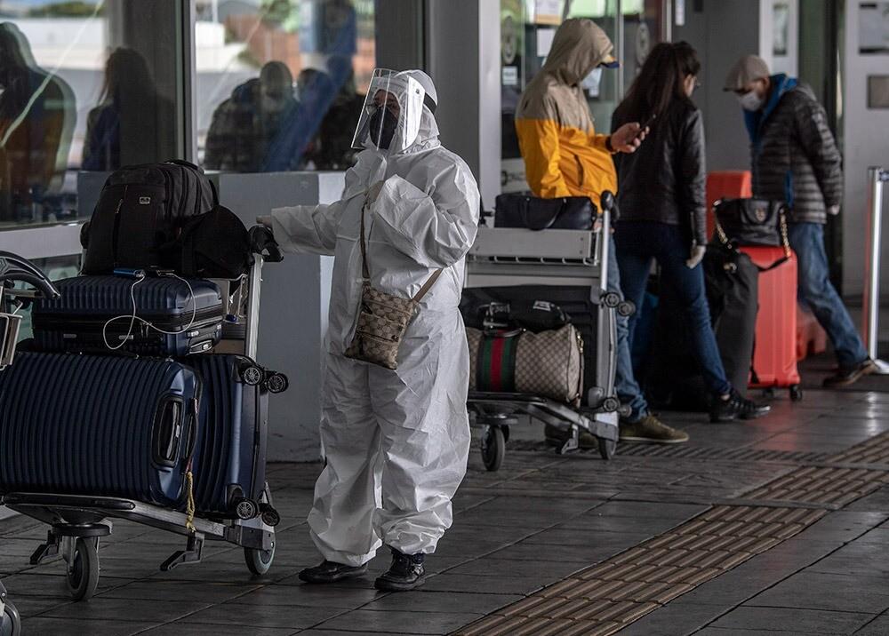 Reactivación aérea en el aeropuerto El Dorado :: Foto: AFP.jpeg