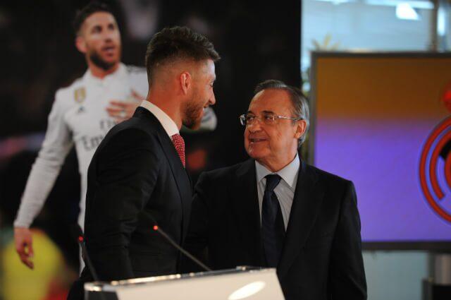 308151_Sergio Ramos y Florentino Pérez