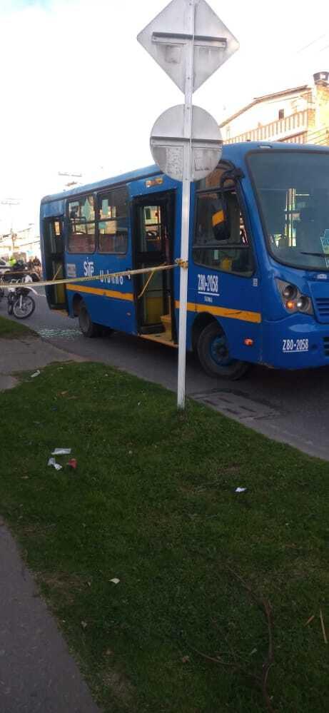Pasajero asesinado en bus del SITP