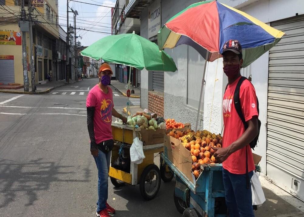 359570_BLU Radio. Ambulantes Bucaramanga / Foto:BLU Radio
