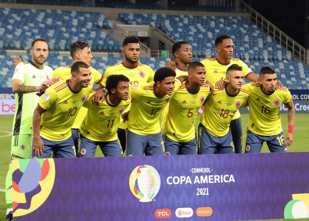 Selección Colombia. AFP