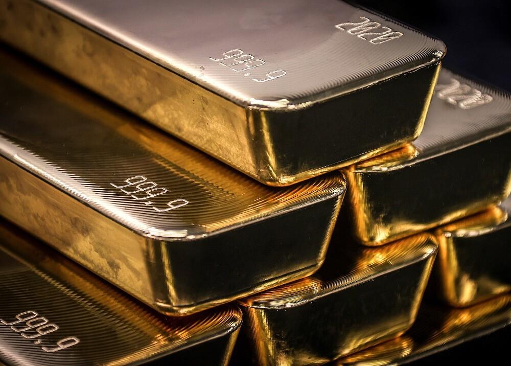 Lingotes de oro. Foto: Referencia AFP
