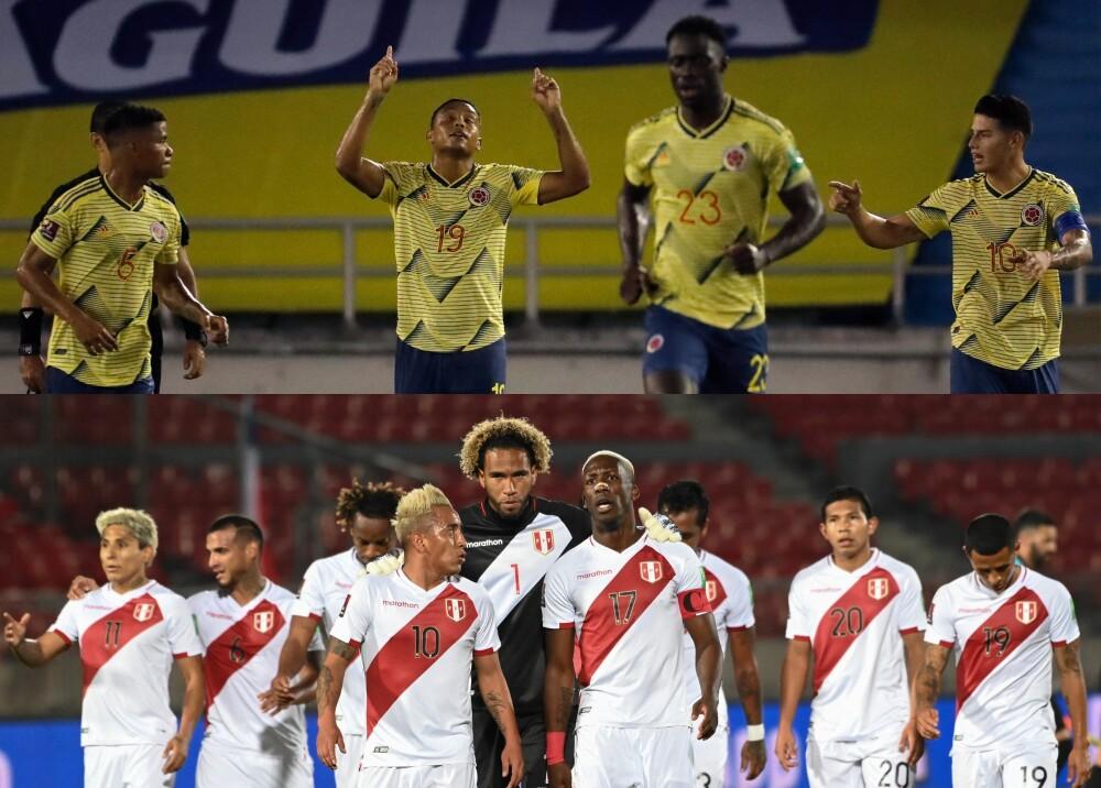 Colombia Perú AFP.