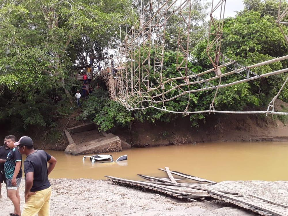 Accidente puente colgante Necoclí, Antioquia