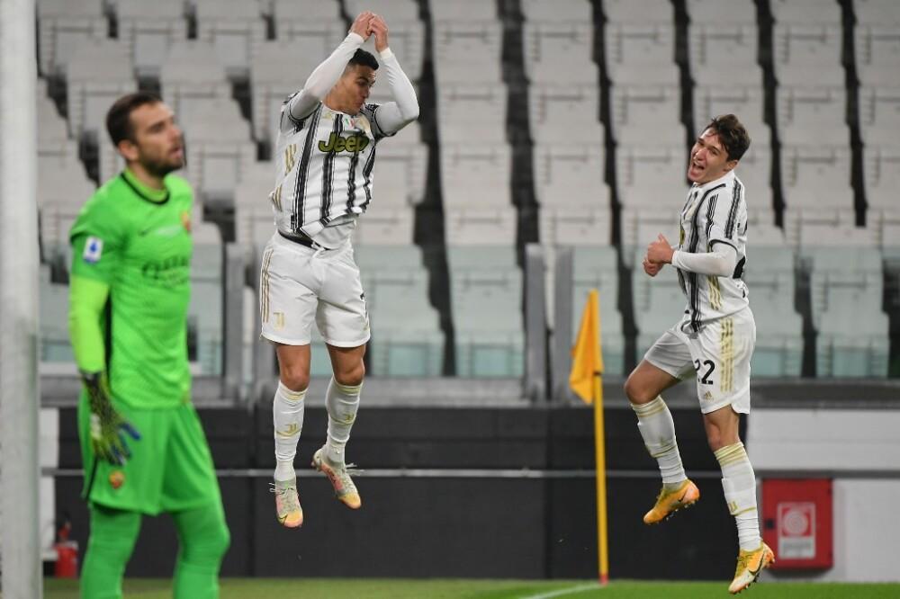 Cristiano Ronaldo, Juventus vs Roma